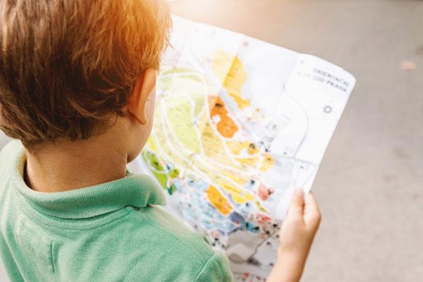 boy&map